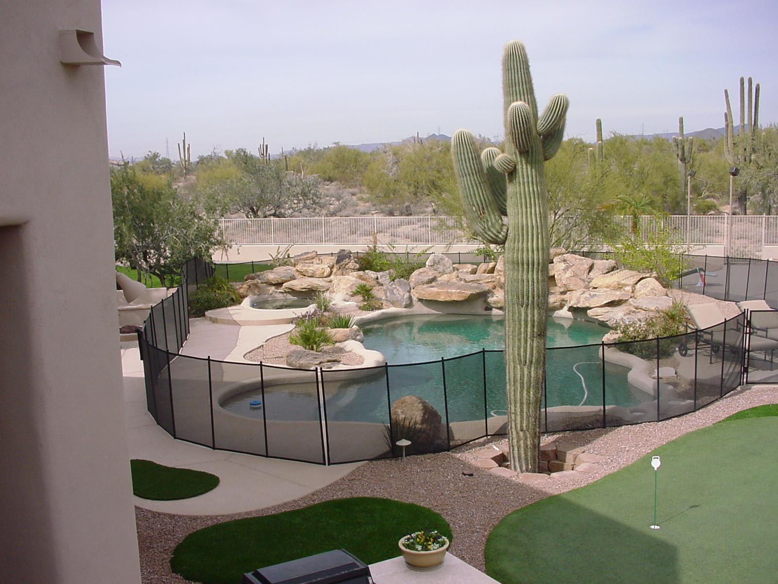 Arizona Pool Fence Pool Safety Fences Covers Gates Amp More