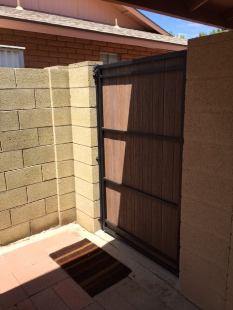 Side Yard Gates Safe Amp Secure Arizona Pool Fence