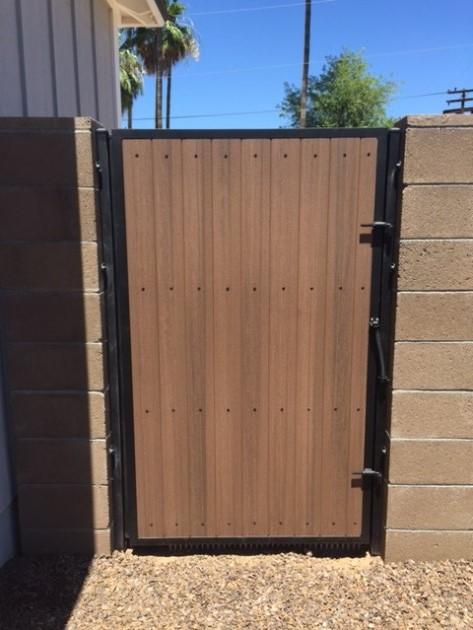 Side Yard Gates Safe Secure