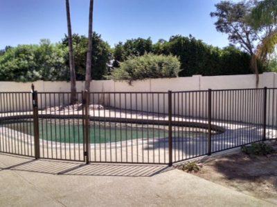 Pool Safety Fences Mesh Glass Wrought Iron Arizona Pool Fence
