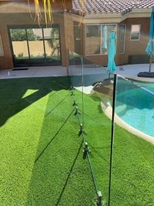arizona glass pool fence