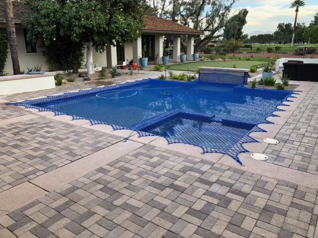 Pool Safety Nets | Pool Net Covers | Arizona Pool Fence