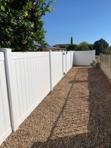 arizona vinyl fencing for backyard