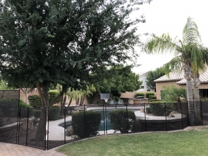 mesh pool fence glendale arizona