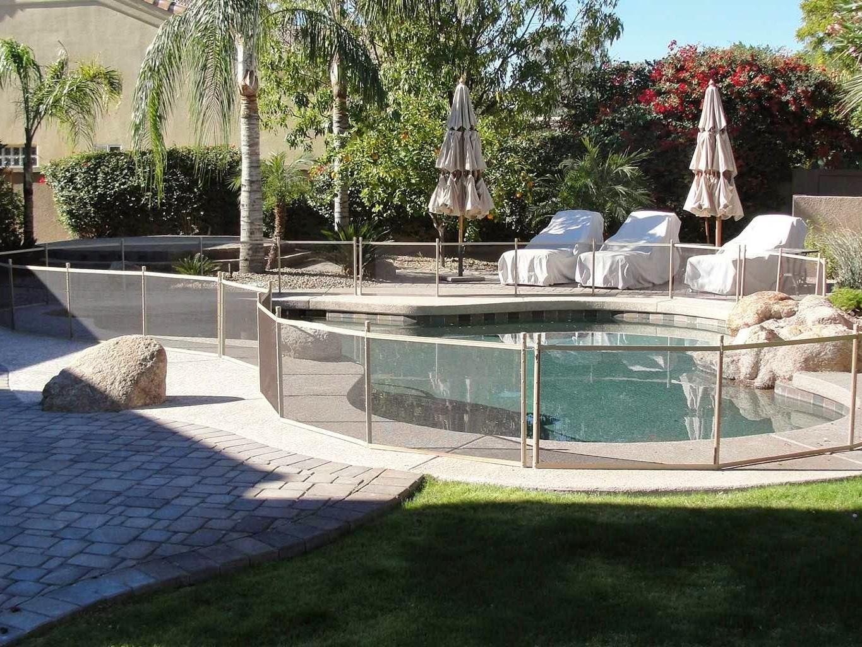 pet pool fence