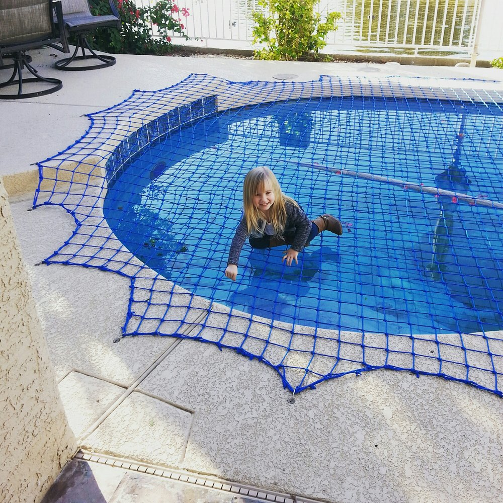 child safety pool net